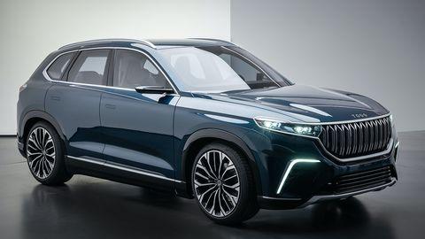 2019 TOGG SUV prototype
