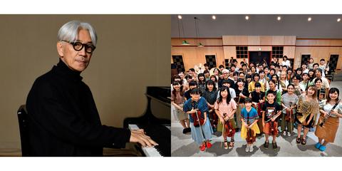 坂本龍一と東北ユースオーケストラ