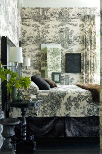 10 Best Toile Wallpaper Ideas Gorgeous Toile Wallpaper