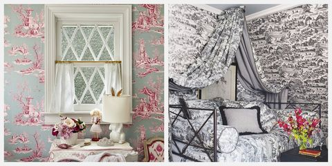 10 Best Toile Wallpaper Ideas Gorgeous