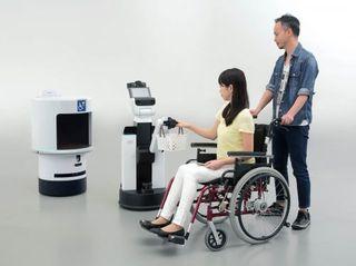 robôs de toyota ajudando mobilidade olimpíadas desativadas
