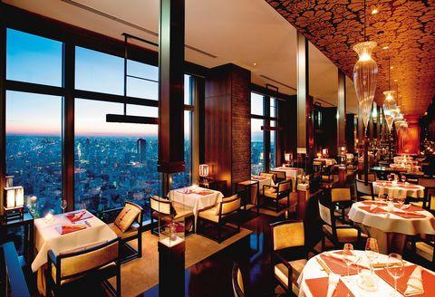 浪漫無敵的空中米其林餐廳