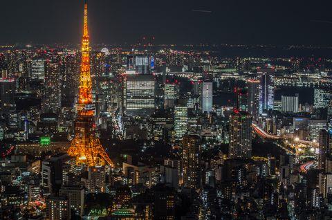 City, Cityscape, Metropolitan area, Urban area, Metropolis, Night, Skyline, Skyscraper, Human settlement, Landmark,