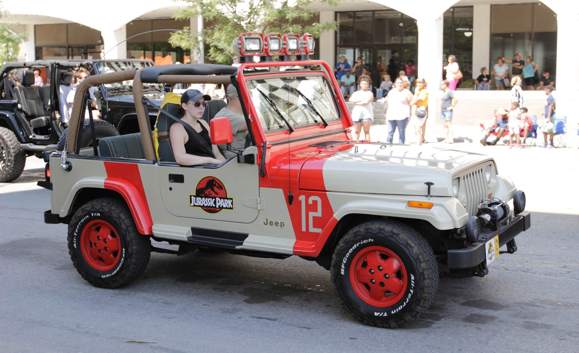 Jeep Fest 2018 Jurassic Park Wrangler