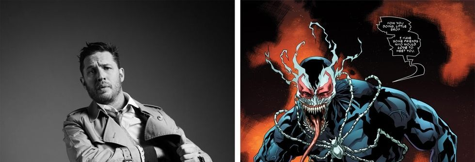 Is This What Tom Hardy's 'Venom' Will Look Like?