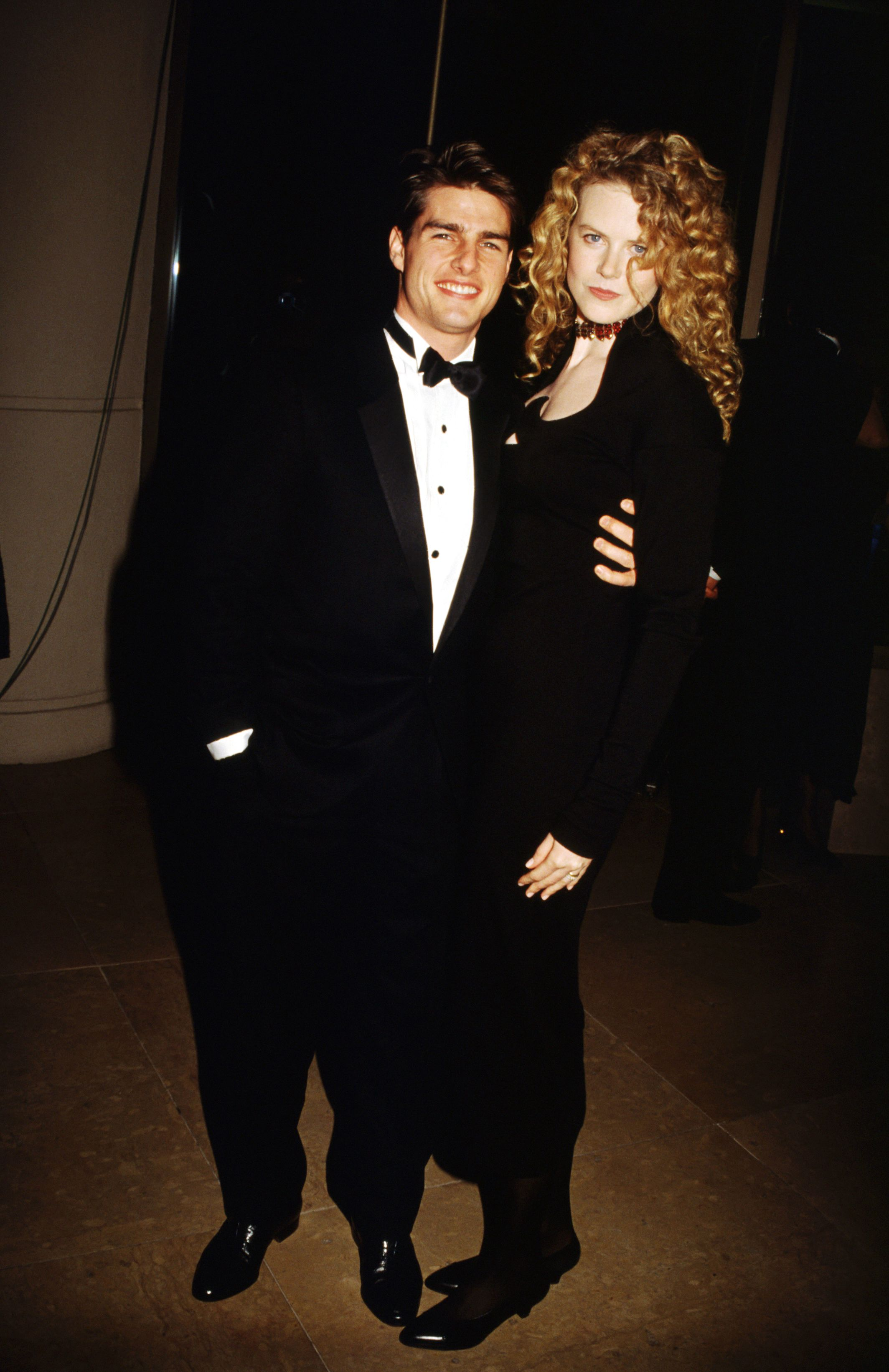 Tom Cruise, Nicole Kidman, Golden Globes, 1992