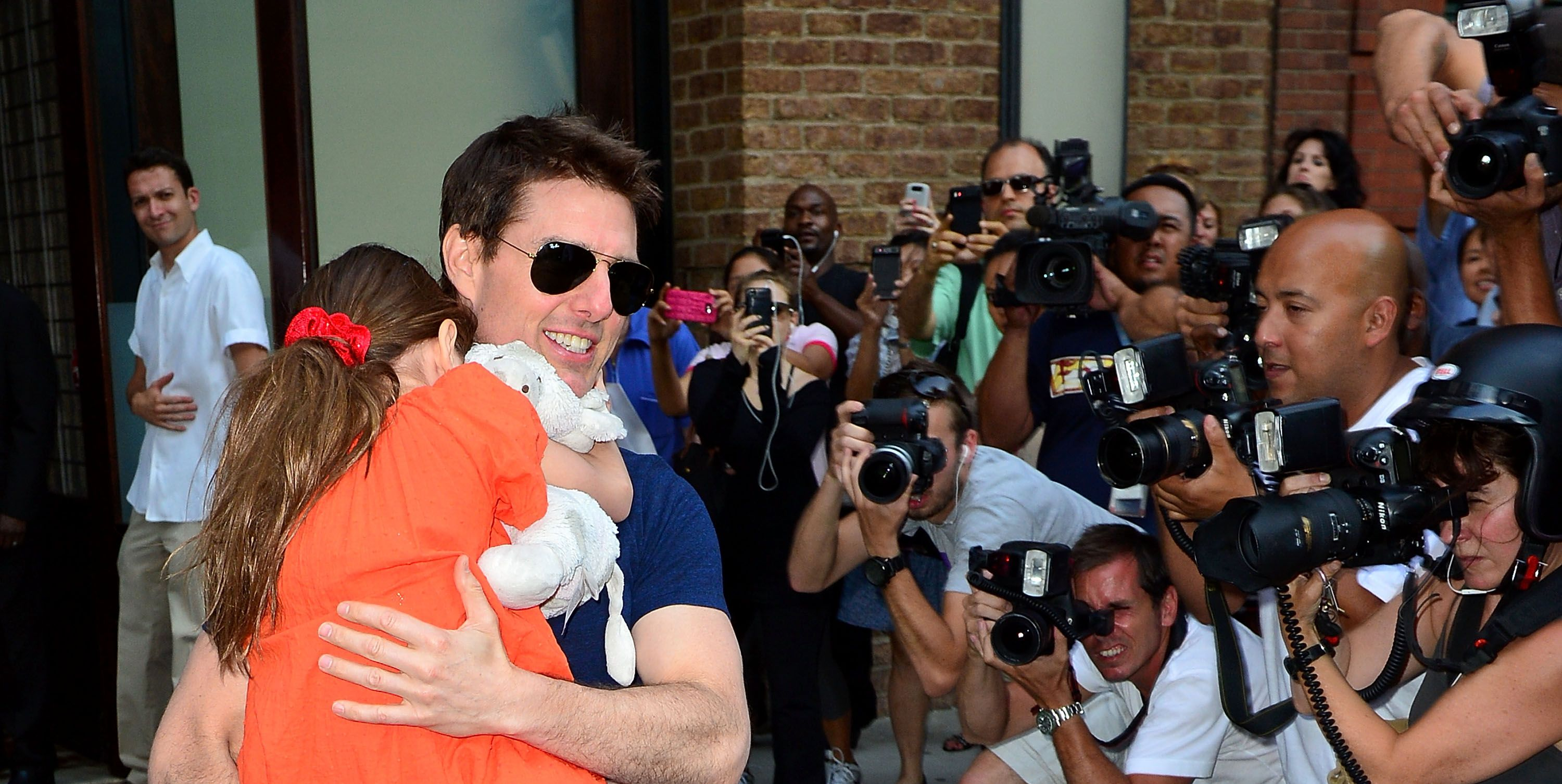Tom cruise family 2013