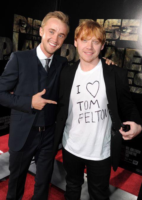 Harry Potter Tom Felton Rupert Grint