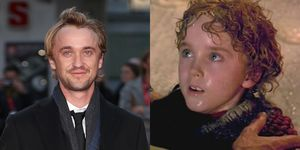 Flashback to the time Tom Felton played Peagreen in The Borrowers