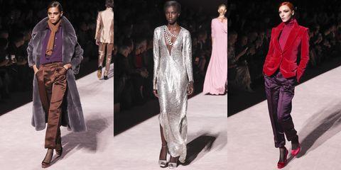 Fashion model, Fashion, Clothing, Runway, Fashion show, Fashion design, Dress, Haute couture, Formal wear, Neck,