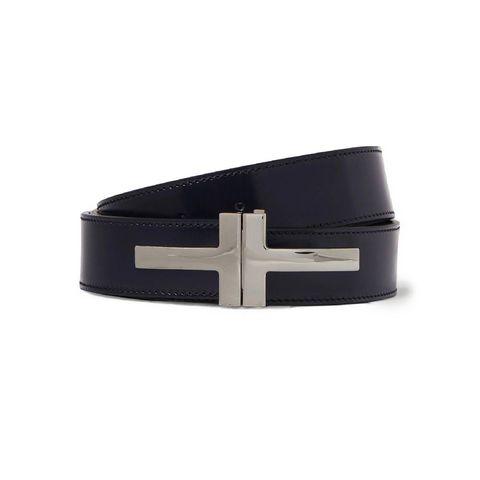 tom ford 3cm polishedleather belt