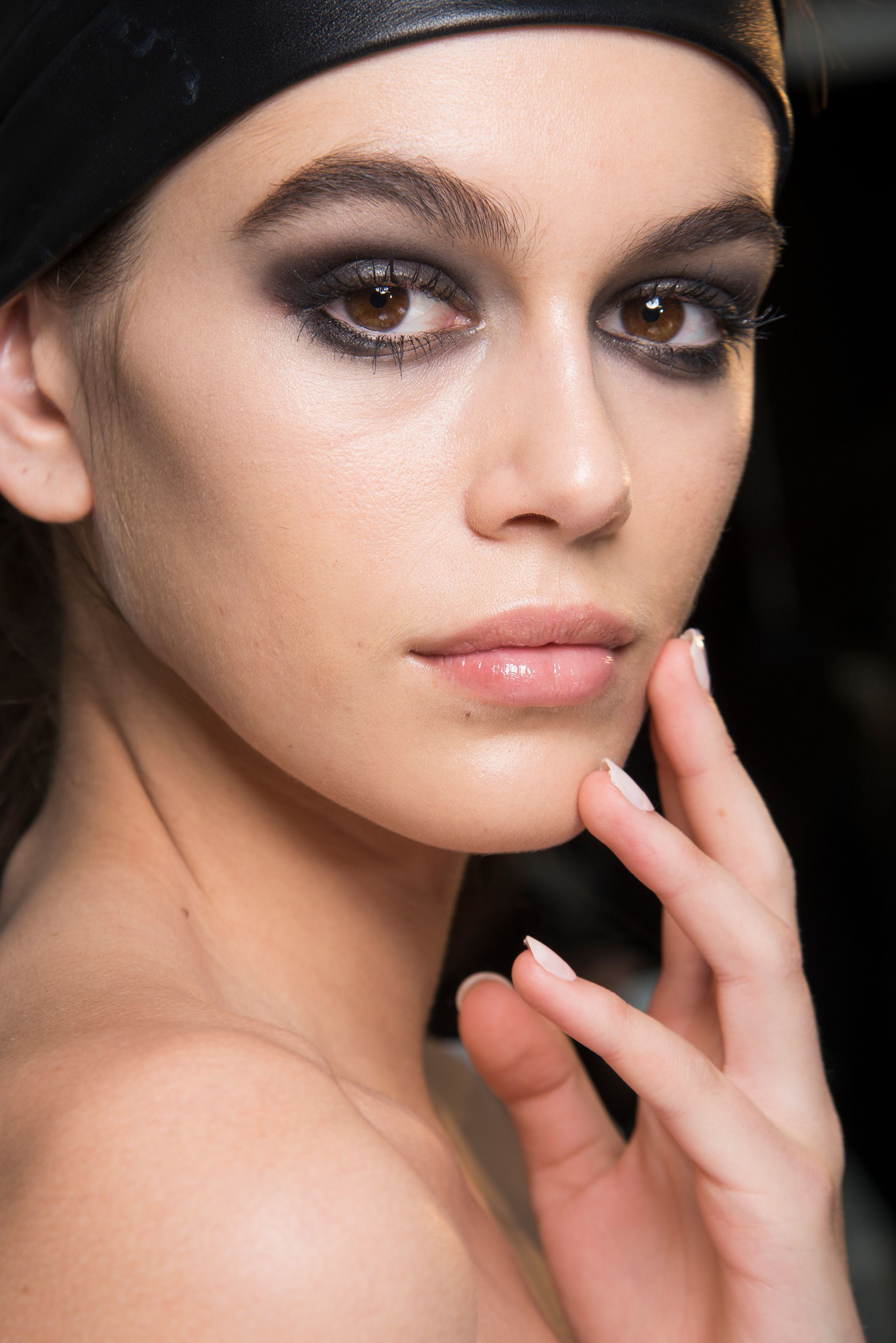 Dior Eye Makeup From The AW 2019 Show