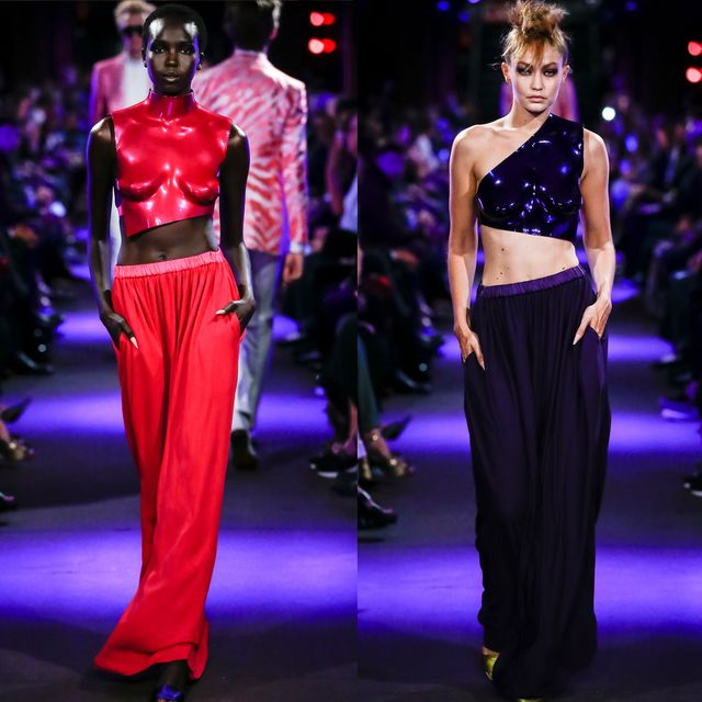 Leg, Waist, Fashion model, Fashion, Fashion show, Public event, Fashion design, Costume design, Runway, Abdomen,