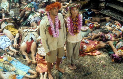 Tom Hanks And Meg Ryan In 'Joe Versus The Volcano'
