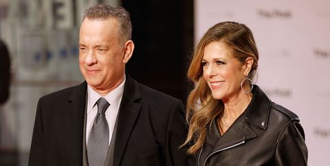 Tom Hanks and Rita Wilson - 'The Post' European Premiere