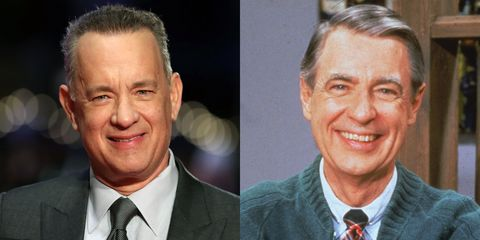 Here S The First Look At Tom Hanks As Mister Rogers In You Are My Friend
