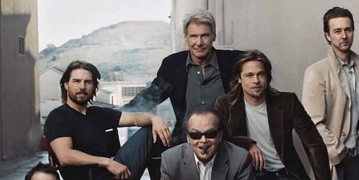 Brad Pitt, Tom Cruise, Tom Hanks, Harrison Ford y Jack Nicholson, ¿quién tiene menos talento?