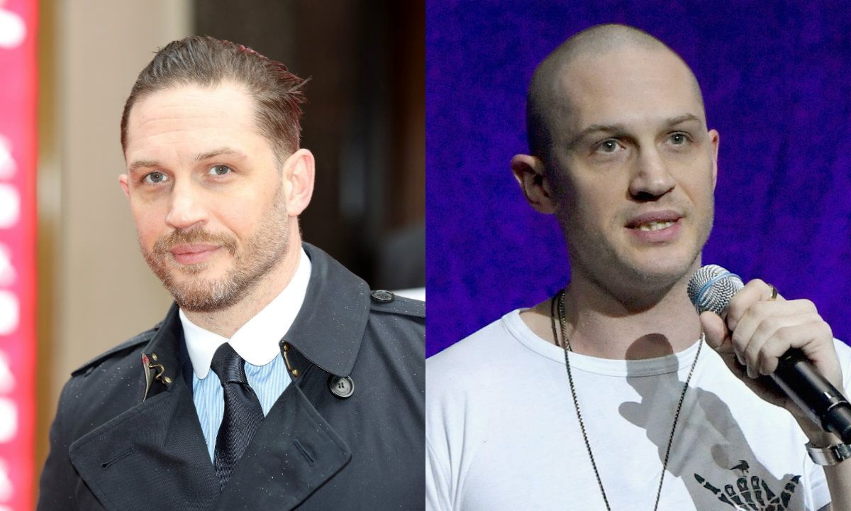 What Bald Actors Look Like Before And After Shaving