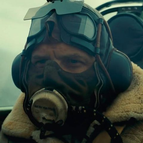 tom hardy in dunkirk face mask