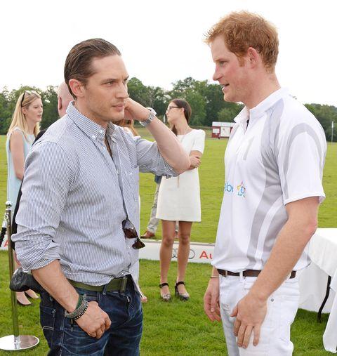 Tom Hardy,Prince Harry