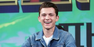 Tom Holland pictured in July 2019
