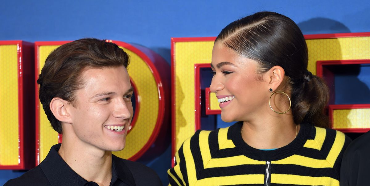 Zendaya and Tom Holland Spotted Making Out in a Car ...