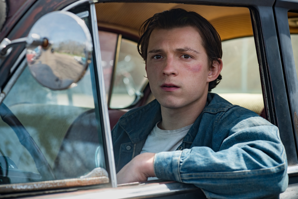 Netflix Releases First Look At Tom Holland And Robert Pattinson In 'The Devil All The Time'