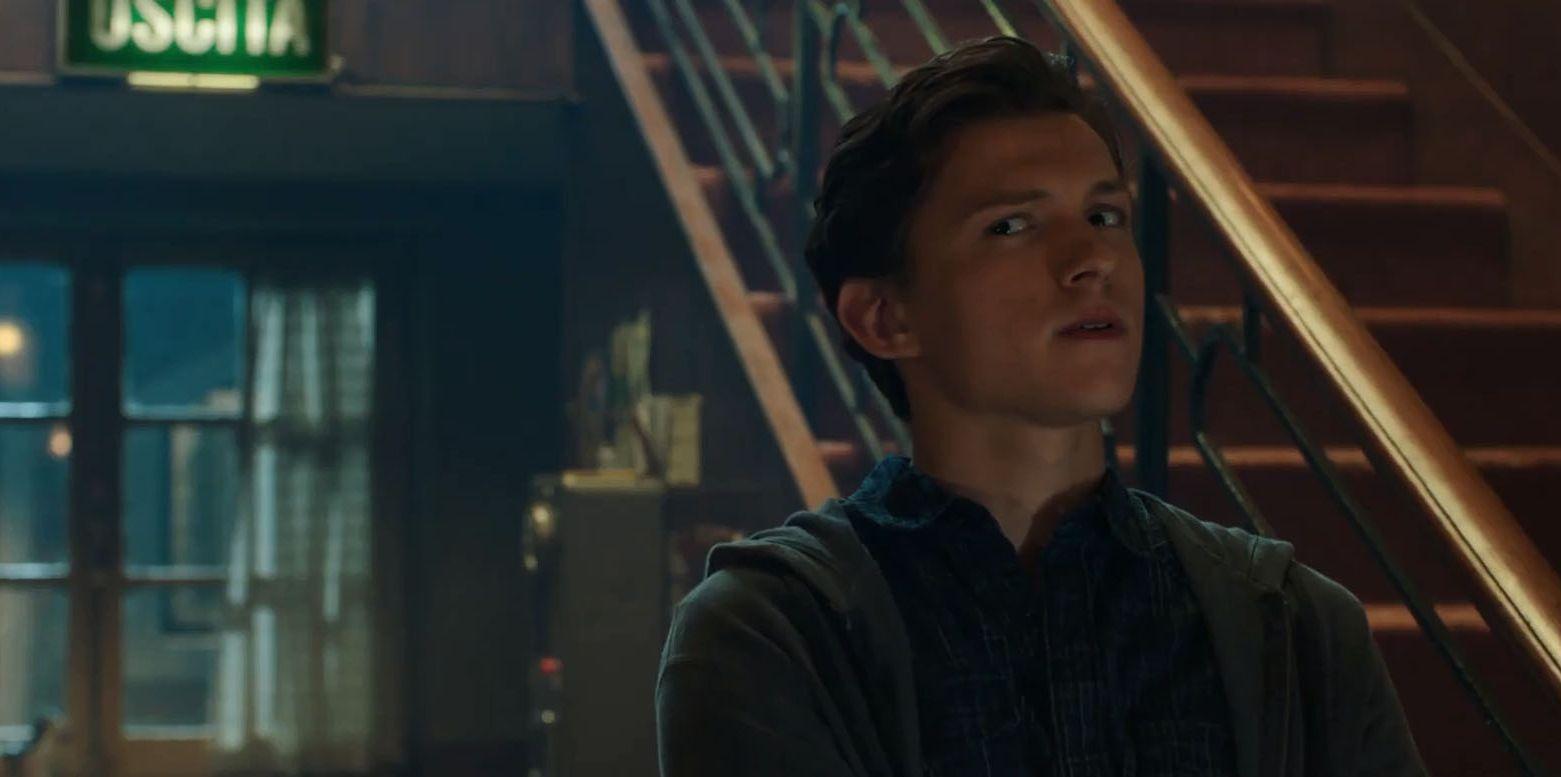 Tom Holland en Spiderman Far From Home