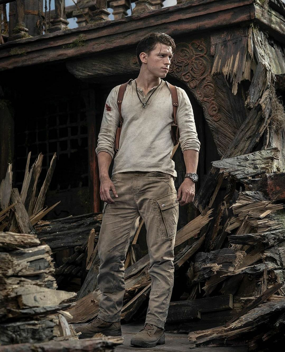 Uncharted movie shares first look at Tom Holland as Nathan Drake