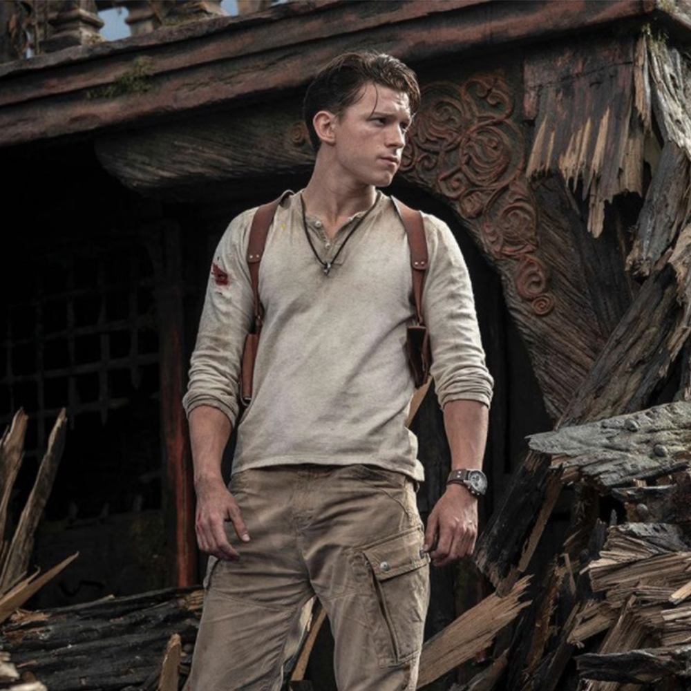 Tom Holland in 'Uncharted' Is the Captain of the Indiana Bros