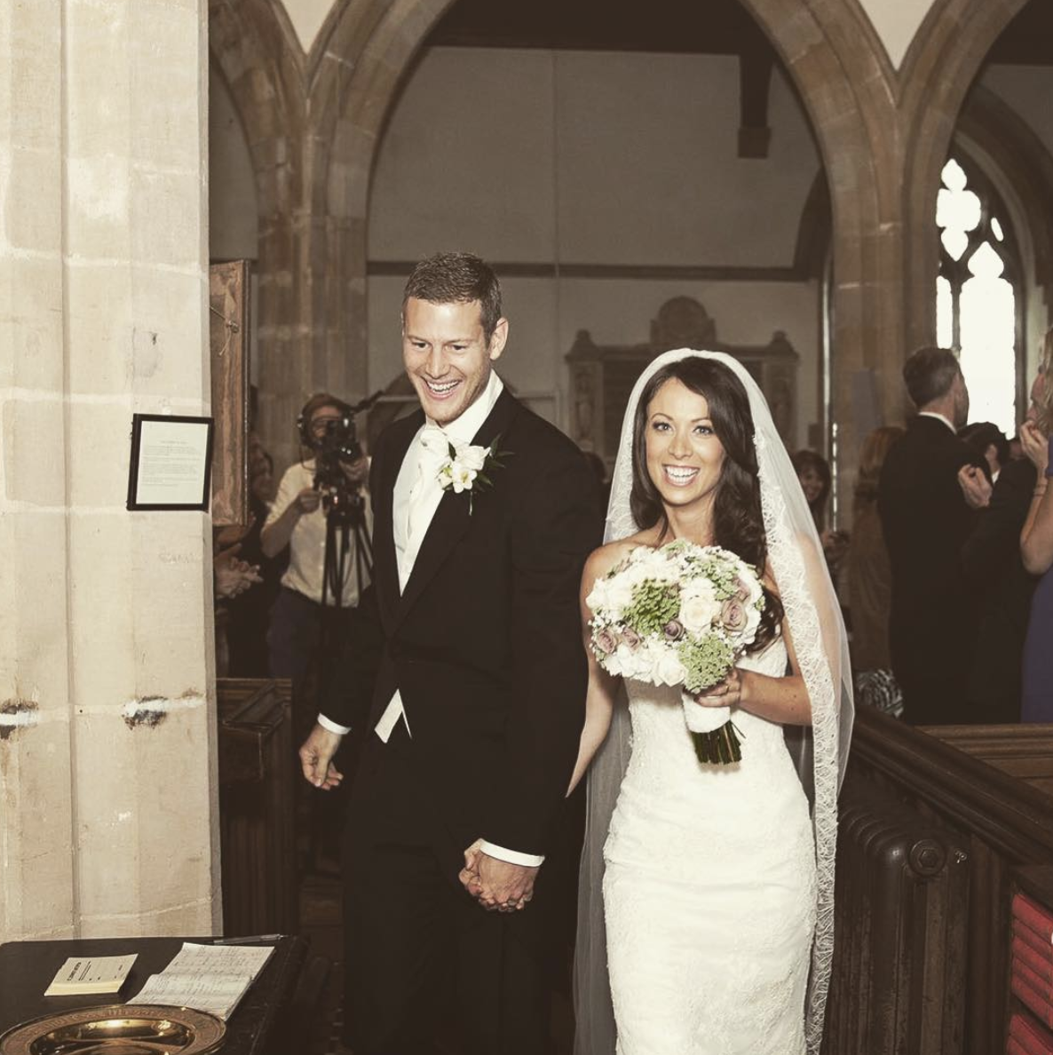Tom Hopper (Dickon Tarly) and Laura Hopper The pair exchanged vows in 2014 and now have two adorable little ones.