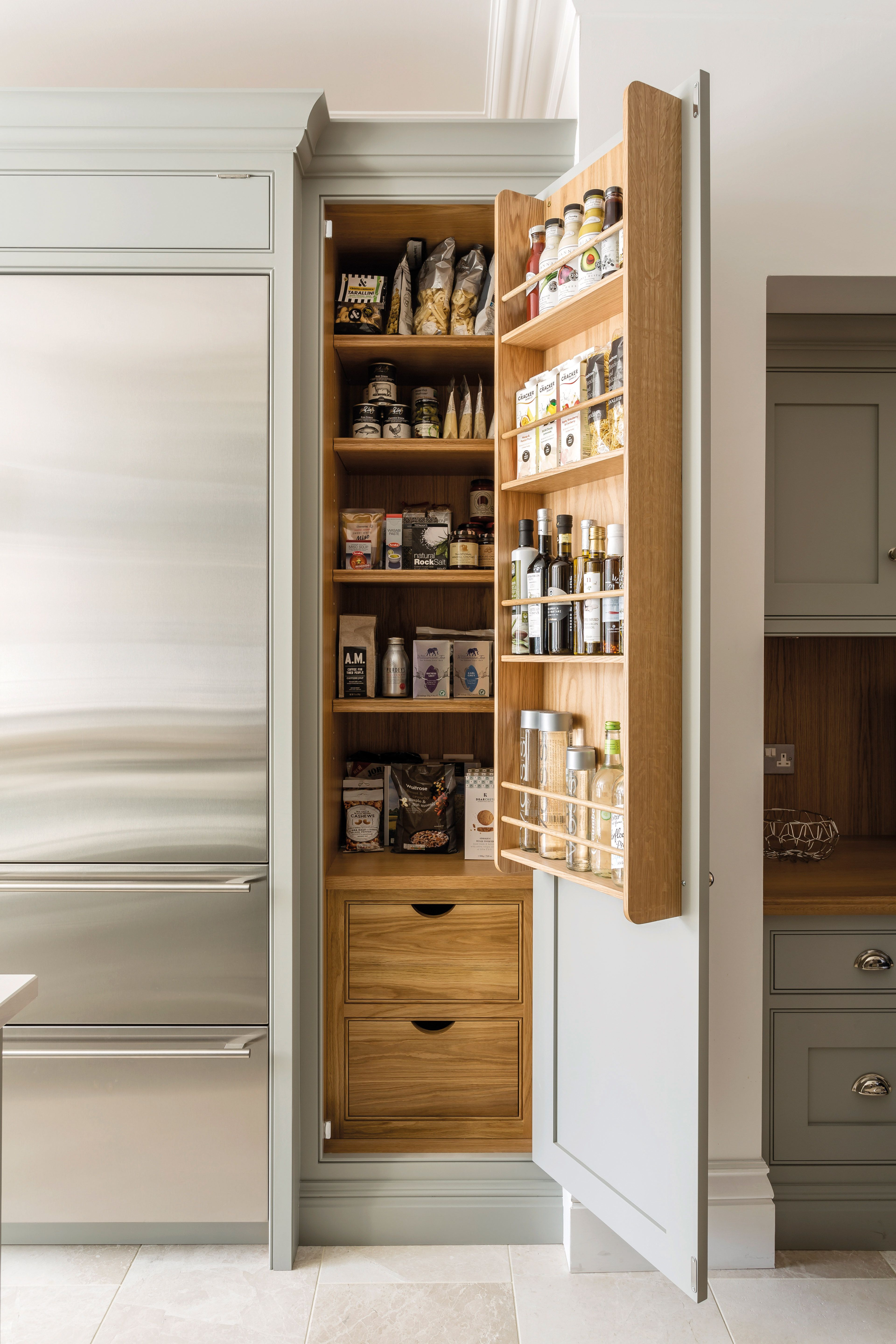 12 Pantry Ideas - Larder Cupboard Ideas For Every Kitchen