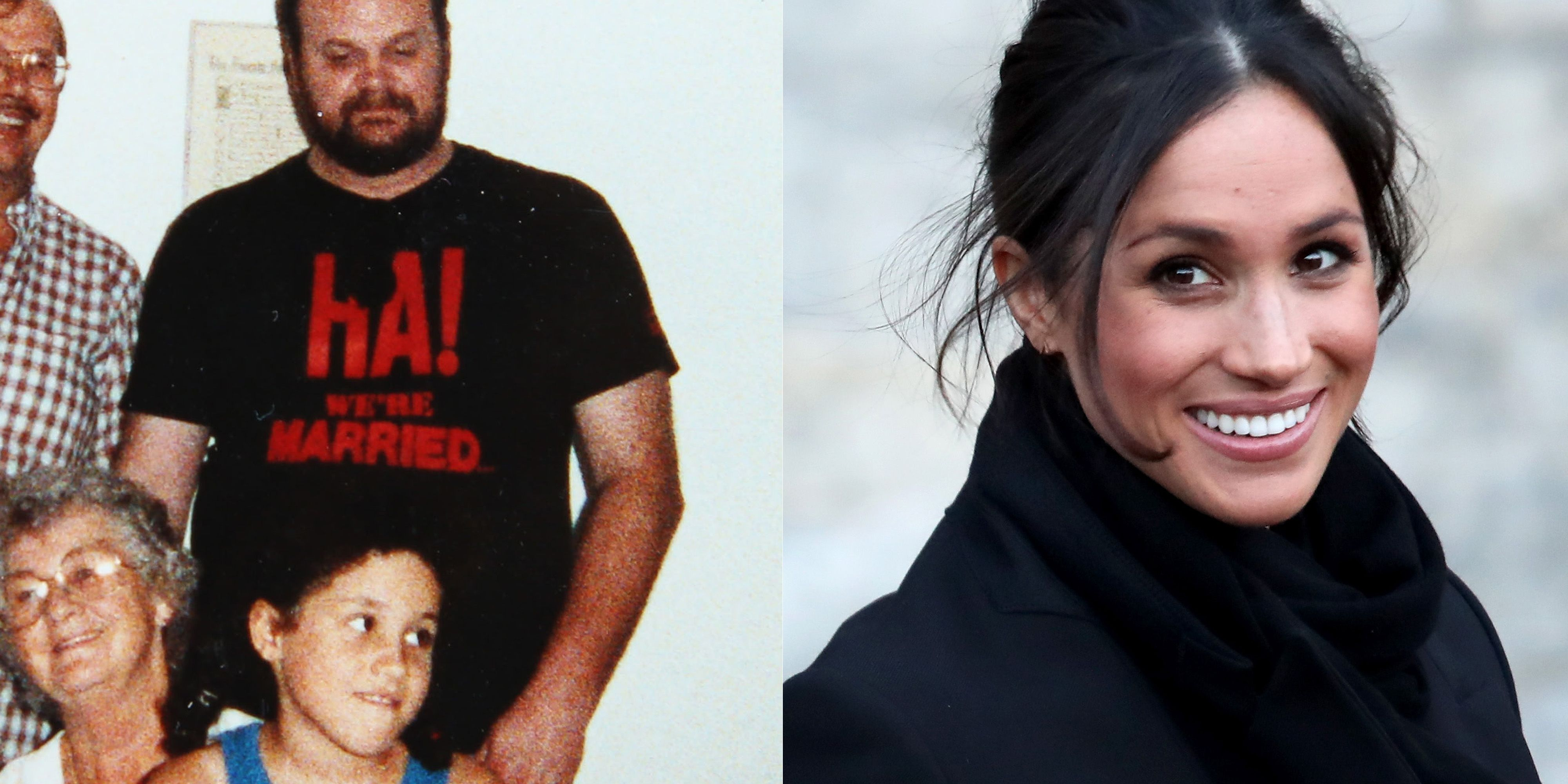 meghan markle and her father