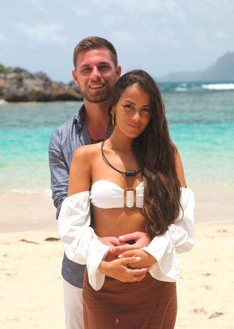 tom y melyssa, una de las parejas de 'la isla de las tentaciones 2'