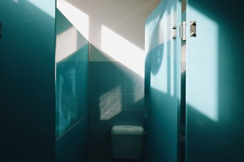 Blue, Green, Turquoise, Light, Teal, Room, Aqua, Wall, Reflection, Architecture,
