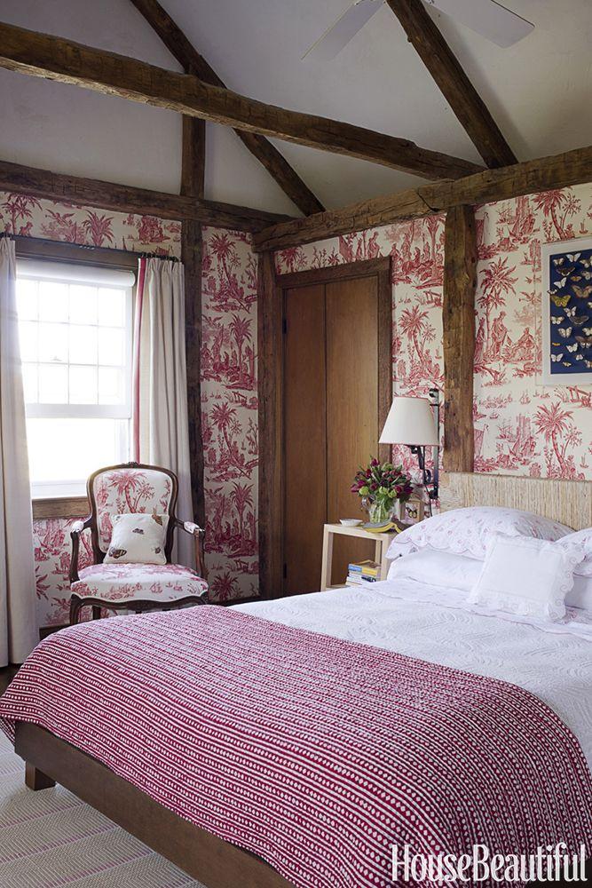 Tom Scheerer Red Bedroom