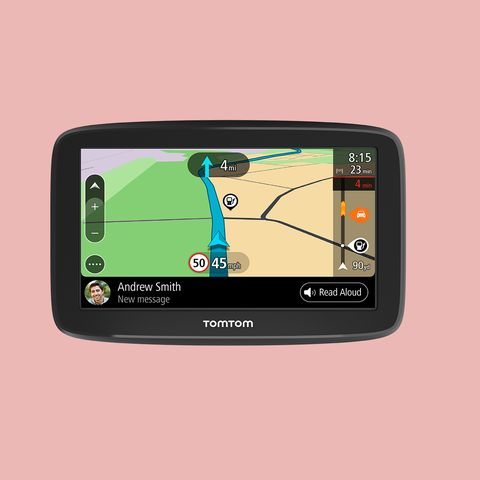 Electronics, Gps navigation device, Technology, Electronic device, Multimedia, Automotive navigation system, Product, Gadget, Display device, Font,