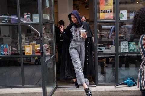 Olivia Palermo en Brooklyn, Nueva York