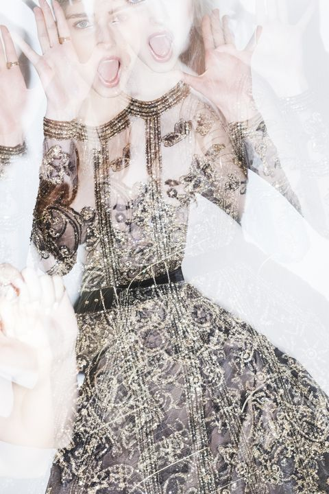 Dress, Victorian fashion, Art, Day dress, Embellishment, Costume design, One-piece garment, Lace, Gown, Fashion design,