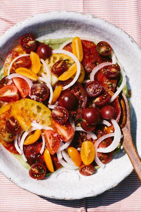 Summery Tomato Salad