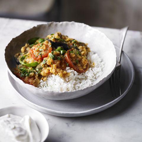 aubergine tomato curry