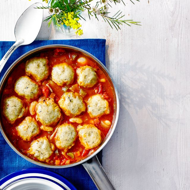 best chicken casserole recipes tomato and chicken casserole with herby dumplings