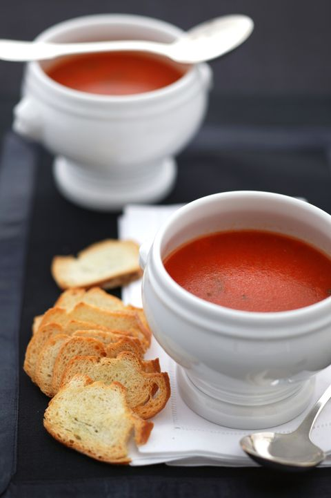Tomato soup. Taken 22nd November 2004 THE AGE EPICURE Picture by MARIANA OLIPHAN
