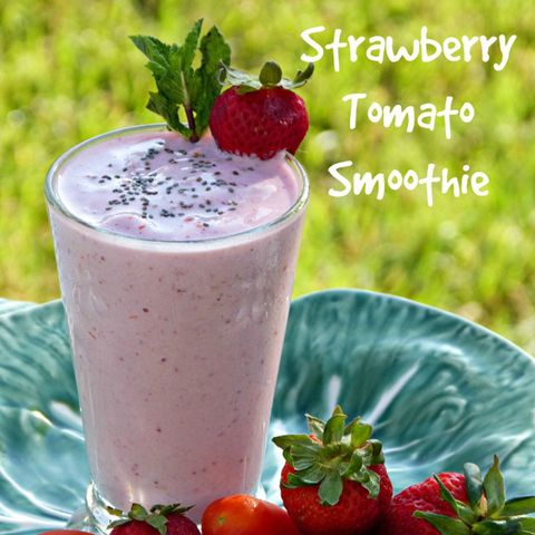 tomato strawberry smoothie