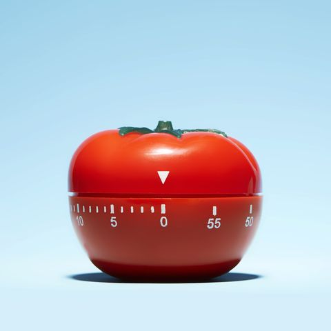tomato shaped oven timer