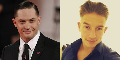 Can we have a round of applause for this Tom Hardy lookalike? 