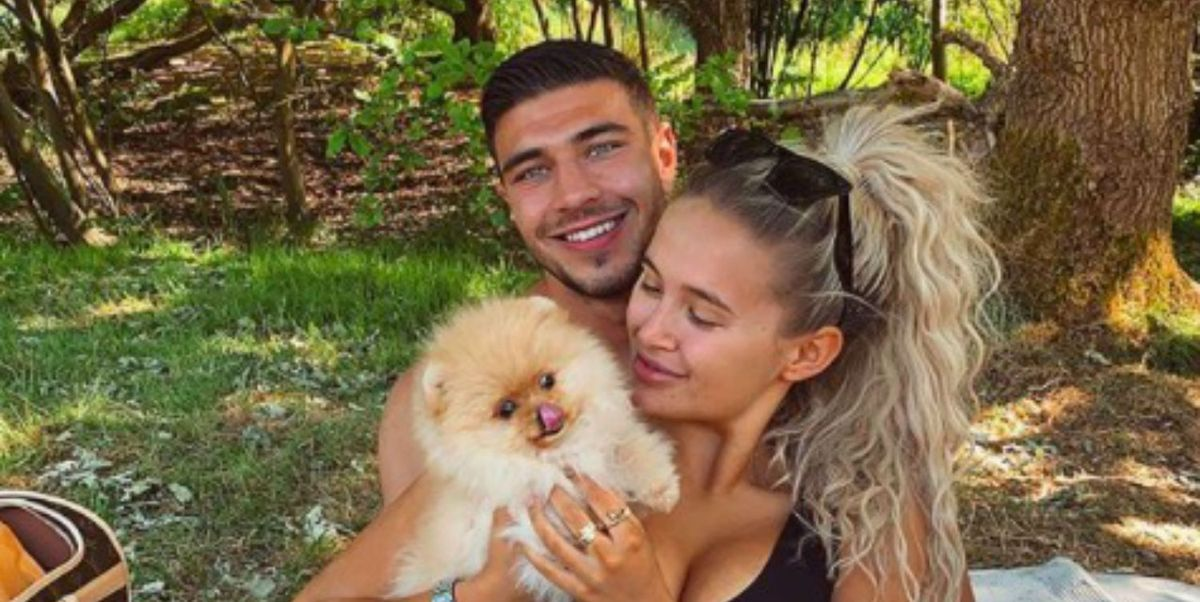 Love Island star Molly-Mae Hague's new puppy has died just six days after bringing him home