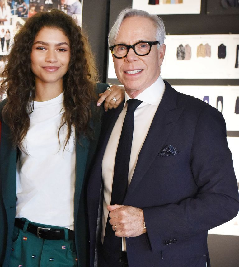 The actress follows in Gigi Hadid's footsteps at the brand.