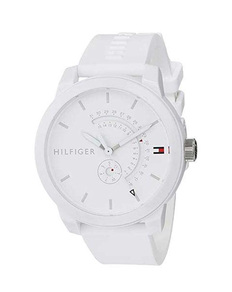 reloj blanco tommy hilfiger