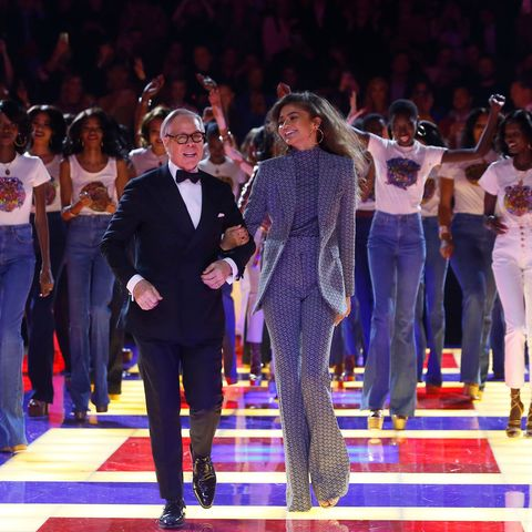 52a950b41ba0 Tommy x Zendaya Launches at Paris Fashion Week with Roller Disco ...